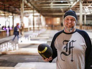 Fowling creator Chris Hutt