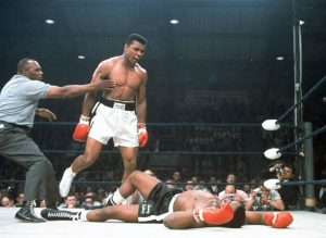 The late heavyweight boxing champion, Mohammed Ali, had seen, and claimed to be followed and watched by, UFO craft on at least 16 different occasions.