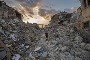 Rescue efforts continue in Italy as a 6.2 magnitude earthquake rattled the country leaving the death tool, so far, at nearly 300 with many other thousands missing and homeless.