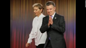 Columbia's president, Juan Santos, received the Nobel Peace Prize. The country has been embroiled in a civil war that has been raging for 52 years. A national referendum for making peace with the rebel insurgency was rejected last week by Colombian voters. Seems there will still be no peace in Colombia.